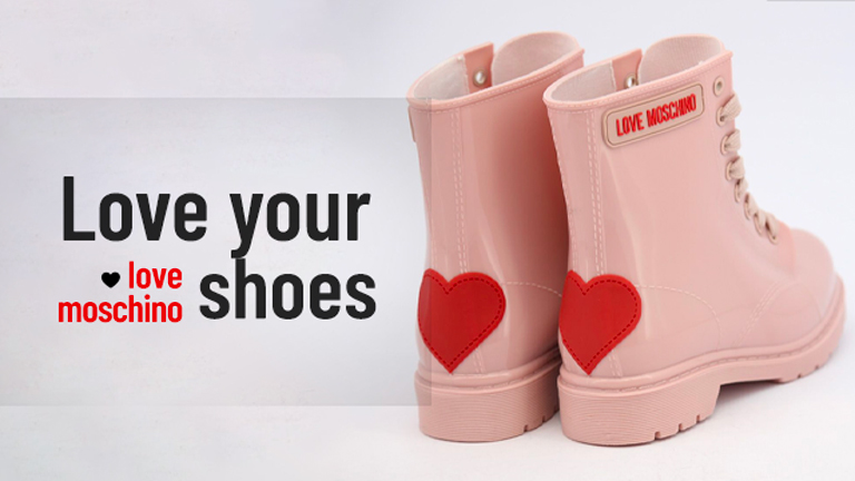 Sell Love Moschino new shoes online in dropshipping