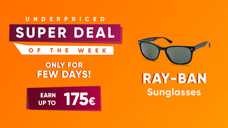sell sunglasses by Ray-Ban online in dropshipping