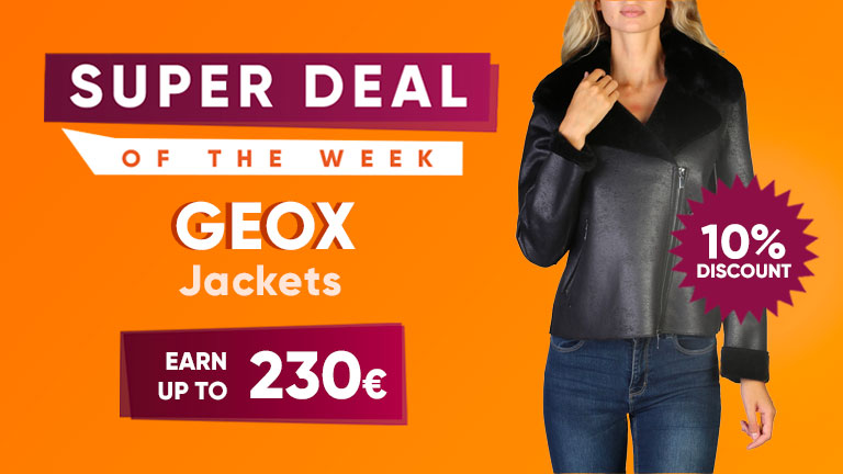 Sell Geox jackets in dropshipping