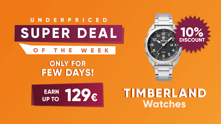 Sell online Timberland watches in dropshipping